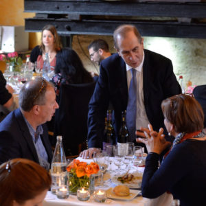 Bernard Cabiron à table