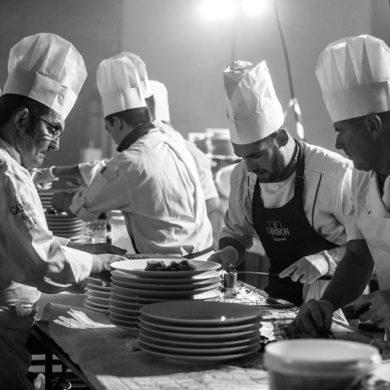 equipe de cuisiniers cabiron