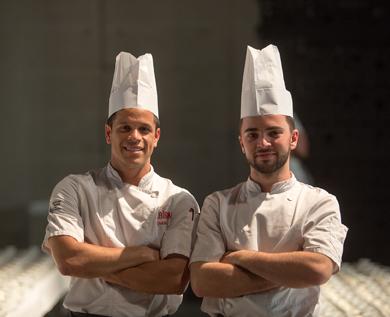 equipe cuisiniers cabiron traiteur