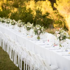 décoration table mariage cabiron traiteur