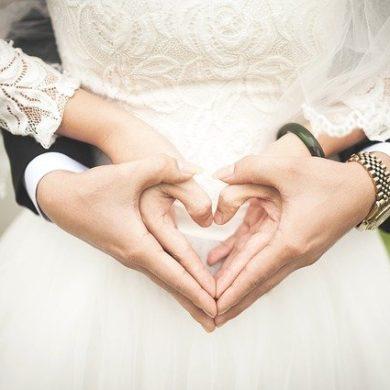 coeur de mariés