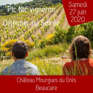 Pic Nic Vigneron 27 juin 2020